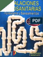 Carnicer Royo, E. - Instalaciones Hidrosanitarias -Fontanería y Saneamientos