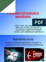Curs Apendicita Acuta - Dr. Badiu