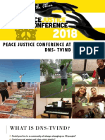 Peace Justice Conference at DNS- Tvind