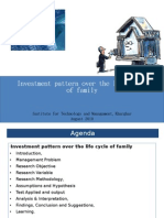 Investment Pattern Over the Life Cycle of Family(2)