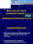 1 - Designing and Delivering Training