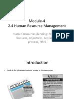 HRM Module 4
