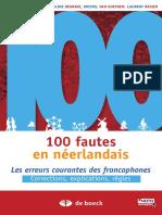 100 Fautes en Néerlandais