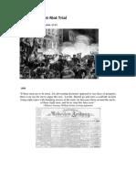 The Haymarket Riot Trial