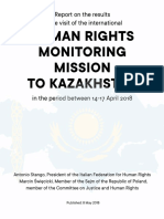 Report Mission to Kazakhstan, April 2018
