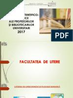 Contribuţiile ştiinţifico-didactice ale profesorilor şi bibliotecarilor universitari 2017 [Resursă electronică]