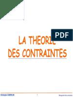 Management Des Contraintes GOULOTS