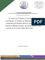 Edited 246732602 AVIS Demarrage Cours