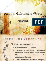 Spanish Colonization Period