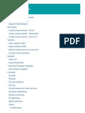 Azure Virtual Network | Virtual Private Network | Virtual