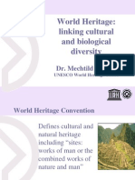 Rossler World Heritage – linking cultural and biological diversity Presentation