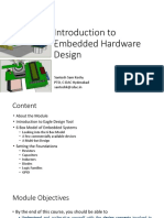 Introduction to Hardware Design