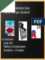 Myth of Transferrable Skills