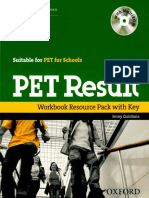 Pet Result Workbook