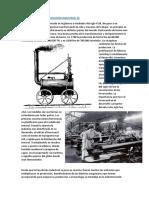 El Ferrocarril y La Revolución Industrial