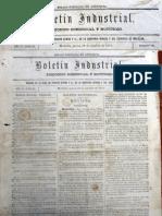 Boletin Industrial 19 Octubre 1876 N° 158OK