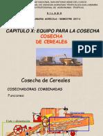 Cosechadora cereales