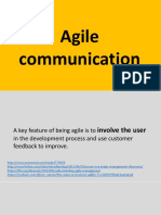 Agile communication