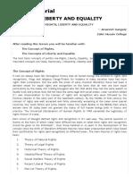 Study Material Liberty