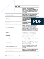 8 Project Quality Terms
