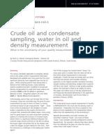 Crude Oil and Condensate