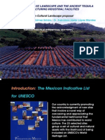 GomezArriola The Agave landscape and the ancient tequila industrial installations Presentation