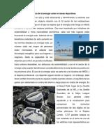 Beneficio de La Energía Solar en Áreas Deportivas