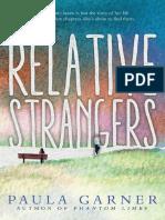 Relative Strangers by  Paula Garner Chapter Sampler