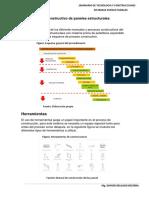 Proceso Constructivo de paneles estructurales