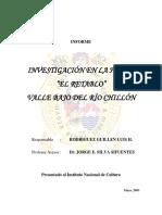 Prospección Arqueológica de La Huaca El Retablo - 2001