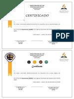 Certificado Avent Esp y Conqui