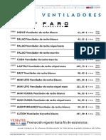 201805 Vematel Promo Mayo 2018 Faro Ventiladores y Fichas Técnicas Web