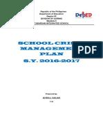 School Crisis Mgmt