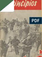 Principios N° 37 julio 1944. Segunda Epoca. Partido Comunista de Chile.