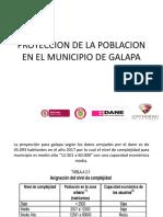 Proyeccion de La Poblacion en El Municipio de Gapalapa Andres