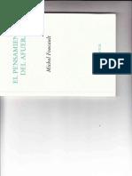 Foucault_ El Pensamiento Del Afuera. Pp 7-82