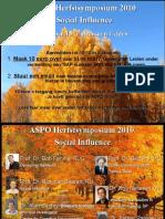 ASPO Herfstsymposium 2010