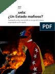 379406188 Siete Razones Para Considerar a Venezuela Un Estado Mafioso Informe de InSight Crime