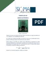 Tarjeta ACS714T-05B (Sigma)