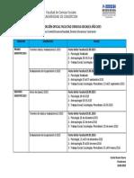 Recalendarizacion Oficial Facultad Cs Sociales 26.08.2015