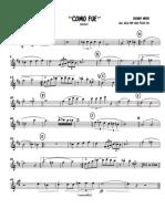 COMO FUE - Alto Sax. 1.pdf
