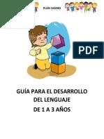 Guía Para El Desarrollo Del Lenguaje de 1 a 3 Años .. (1)