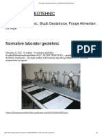 Normative Laborator Geotehnic _ LABORATOR GEOTEHNIC