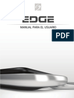 Manual usuario Ecografo EDGE