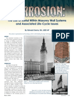 Use of Metal Within Masonry Wall Systems - Gerns 2009