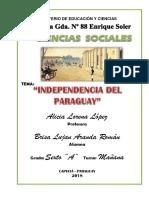 Independencia Del Paraguay Brisa