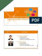 P5E9 Diapo Evaluation de La Marque Aspects Comptables Fiscaux Et Juridiques