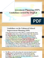 SIP Guidelines