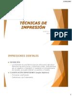 4. Técnicas de Impresión