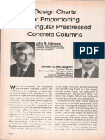 Design Charts for Proportioning Rectangular Prestressed Concrete Columns